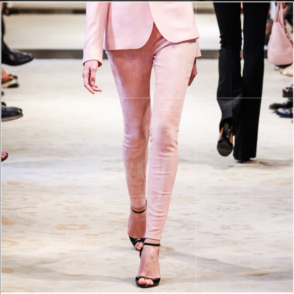Ralph Lauren Black Label Pants - Ralph Lauren collection pink suede pants .NWT. 8